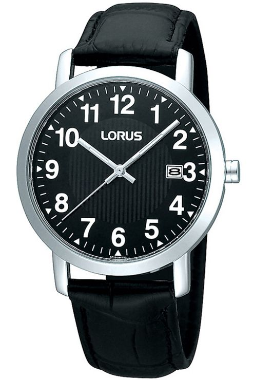 Lorus Gents Leather Strap Watch RH951CX9