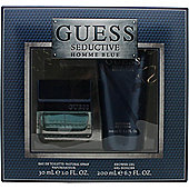 Guess Seductive Homme Blue Gift Set 30ml EDT Spray + 200ml Shower Gel For Men