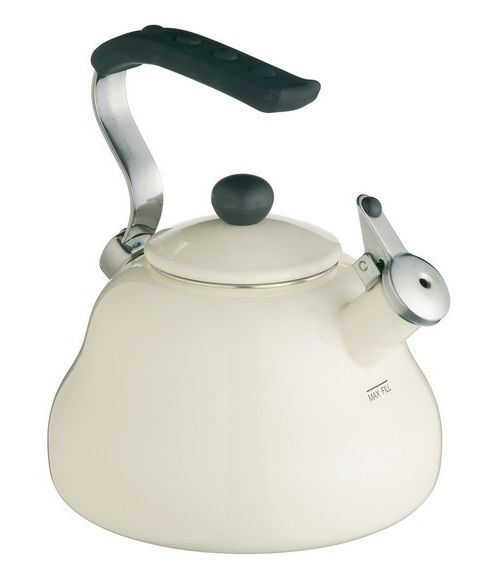 LeXpress Seashell Cream Whistling Kettle