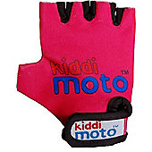 Kiddimoto Gloves Neon Pink (Small)