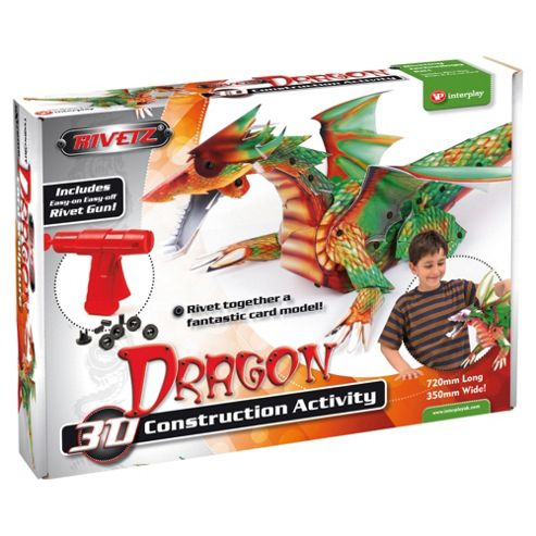 Rivetz Dragon 3D Construction Kit