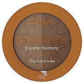 L'Oréal Glam Bronze Duo 102 Brunette Harmony 9g