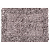 Tesco Reversible Bath Mat Slate Grey