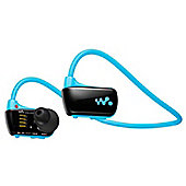Sony NWZ-W273S 4GB Waterproof All-in-One MP3 Player - Blue