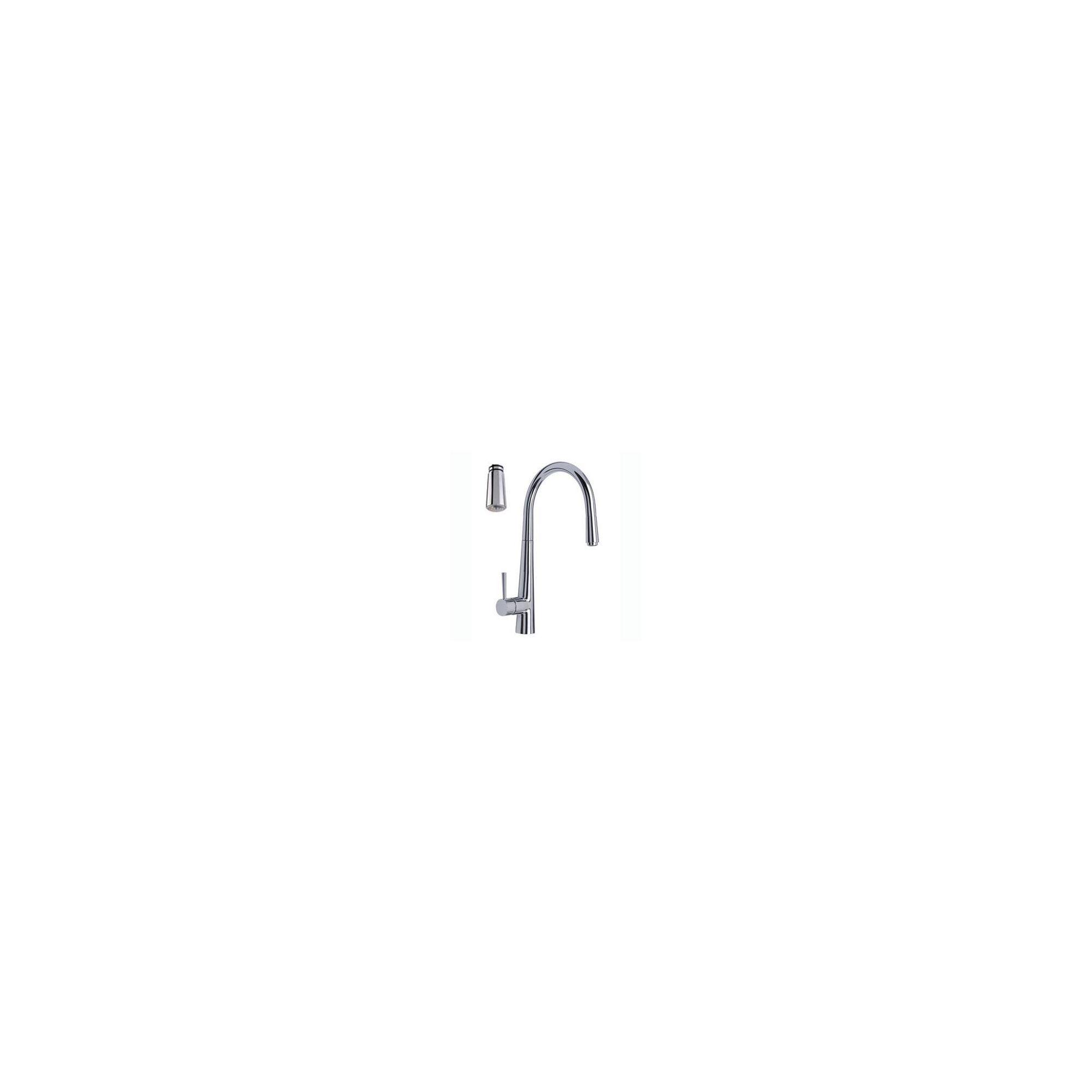 Mayfair Plazzo Glo Kitchen Sink Mixer Tap, Chrome at Tesco Direct