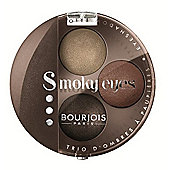 Bourjois Paris Smoky Eyes Trio Eyeshadow No.13 Brun Wood 4.5g