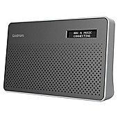 Goodmans Canvas DAB Radio Steel