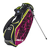Mizuno Mens Aerolite X Sake Golf Bag (Stand) in Black & Purple & Green