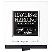 Baylis & Harding Boxed Candle Sweet Mandarin & Grapefruit