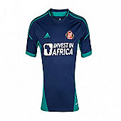 2012-13 Sunderland Adidas Away Football Shirt - Navy