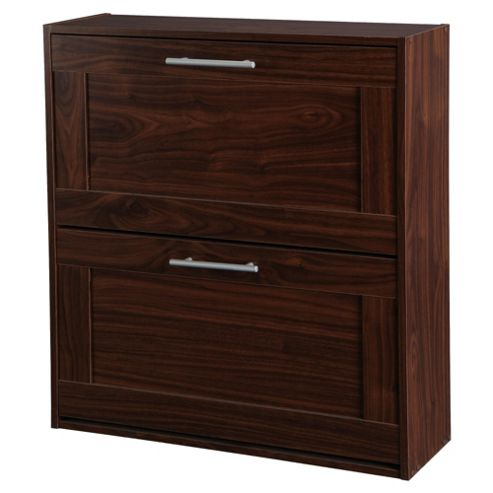Kendal Shoe Cabinet, Walnut-effect