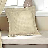 Dreams N Drapes Curtina Marlowe Cushion Cover in Natural