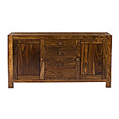 Elements Block Sideboard in Warm Lacquer