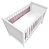 Baby Bundle 2 Side Cot Wrap Pink