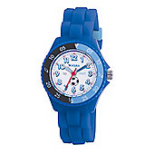 Tikkers Childrens Blue Rubber Strap Watch TK0002