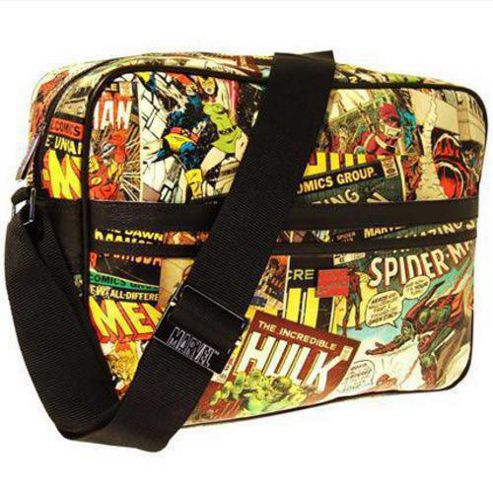 Marvel Comics Retro Messenger Bag