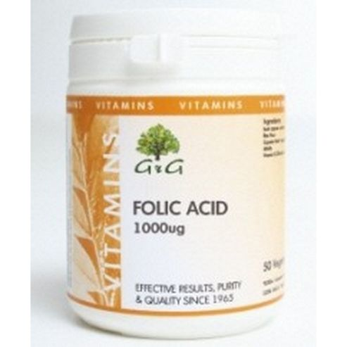 Folic Acid 1000 micrograms Trufil Capsules