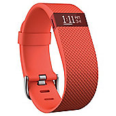 Fitbit Charge HR, Tangerine, Large