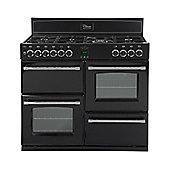 Belling Country Classic 110DFT Duel Fuel Range Cooker in Black