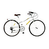 "17"" Viking Continental Mixte 7 Speed, White"
