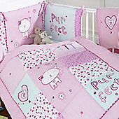 bed-e-byes Purfect Pink 5 Pc Bedding Bale