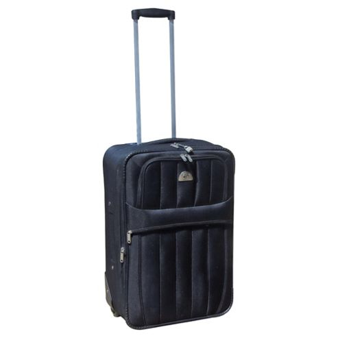 Beverly Hills Polo Club 2-Wheel Suitcase, Black Medium