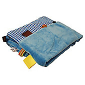 Snoozebaby Travel Changing Pad - Dolphin Blue