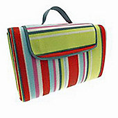 Country Club Family Size Beach & Picnic Blanket 150 x 200cm, Stripes