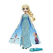 Disney Frozen Magical Story Cape Doll - Elsa