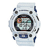 Casio G-Shock Watch with World Time White Black