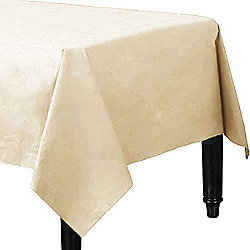Ivory Tablecover - 3ply Paper - 1.4m x 2.8m