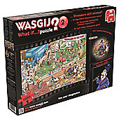 Wasgij What if Dinosaurs Still Existed Jigsaw Puzzle (1000 Pieces)