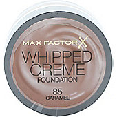 Max Factor Whipped Creme Foundation 18ml - Caramel 85