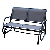 Bentley Garden 2 Seater Textilene Rocking Glider Bench