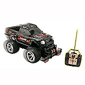 Power Truck 1:8 Remote Control Car - Black