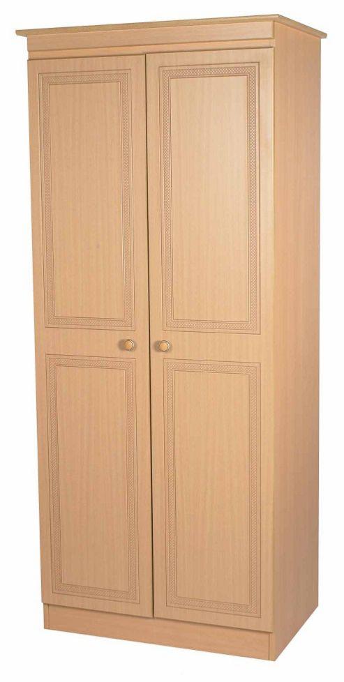 Welcome Furniture Corrib Plain Wardrobe - 74 cm - Beech