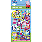 Stickers Peppa Pig Stickers (6 pk)
