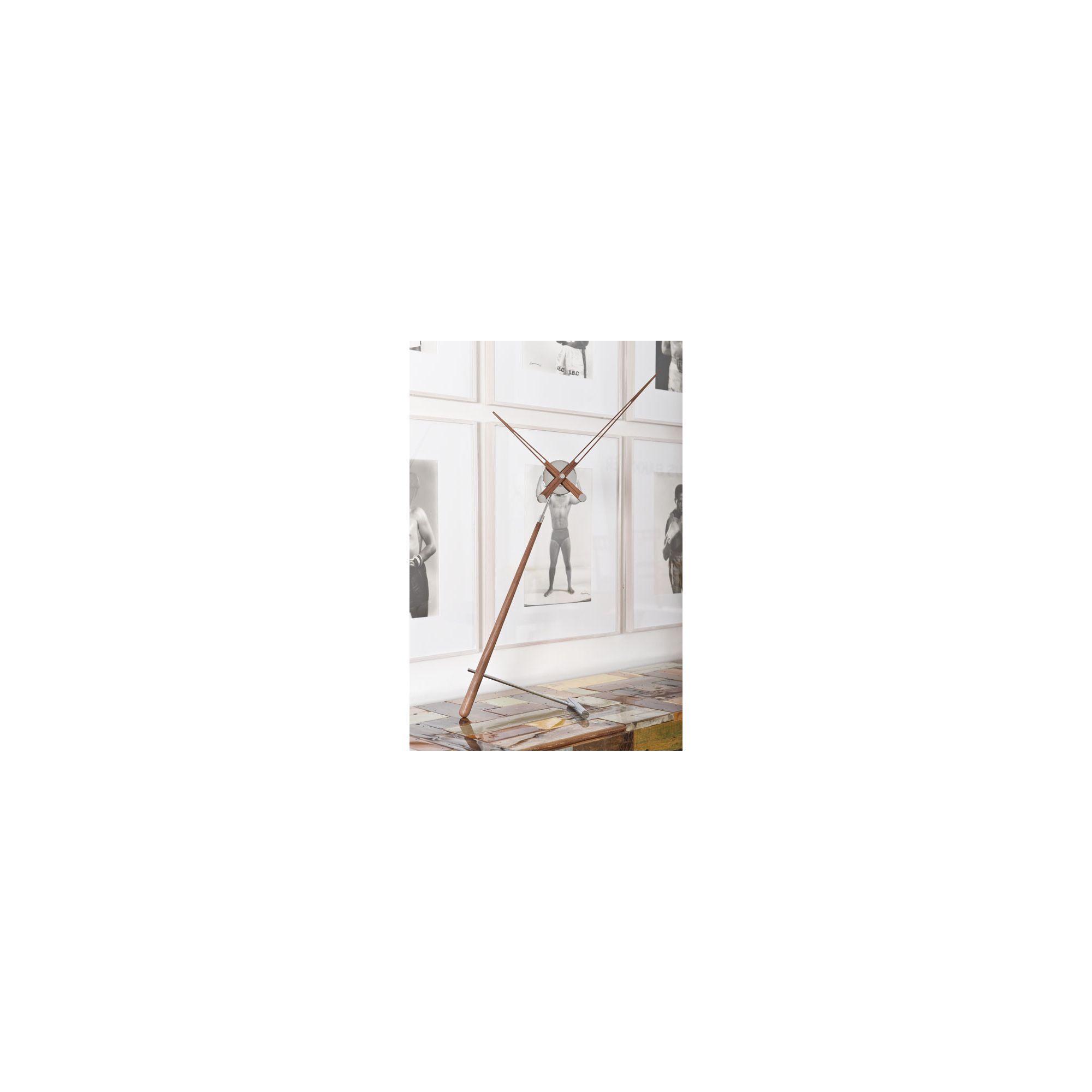 NOMON Puntero Clock - Natural Walnut at Tesco Direct