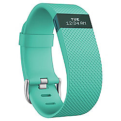 Fitbit Charge HR, Teal, Large