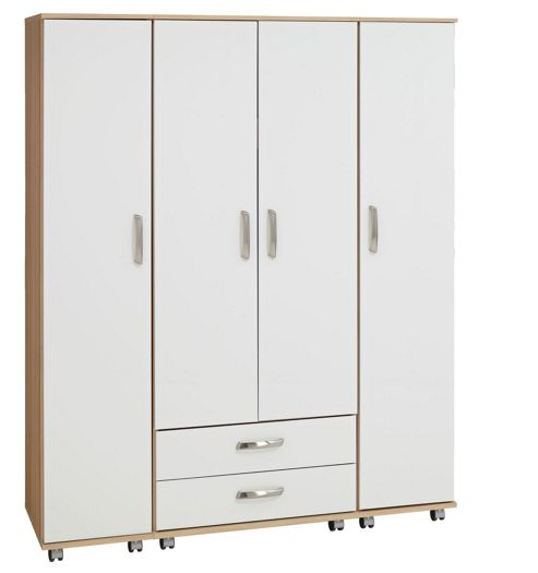 Ideal Furniture Regal 4 Door Wardrobe