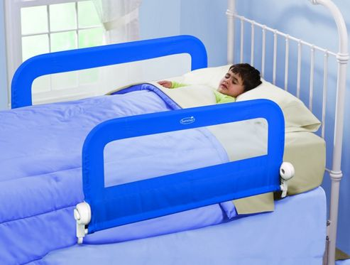 Summer Infant Grow With Me Double Bedrail Blue