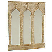 Papa Theo Triple Venice Mirror - Natural Limed