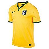 2014-15 Brazil Home World Cup Football Shirt - Yellow