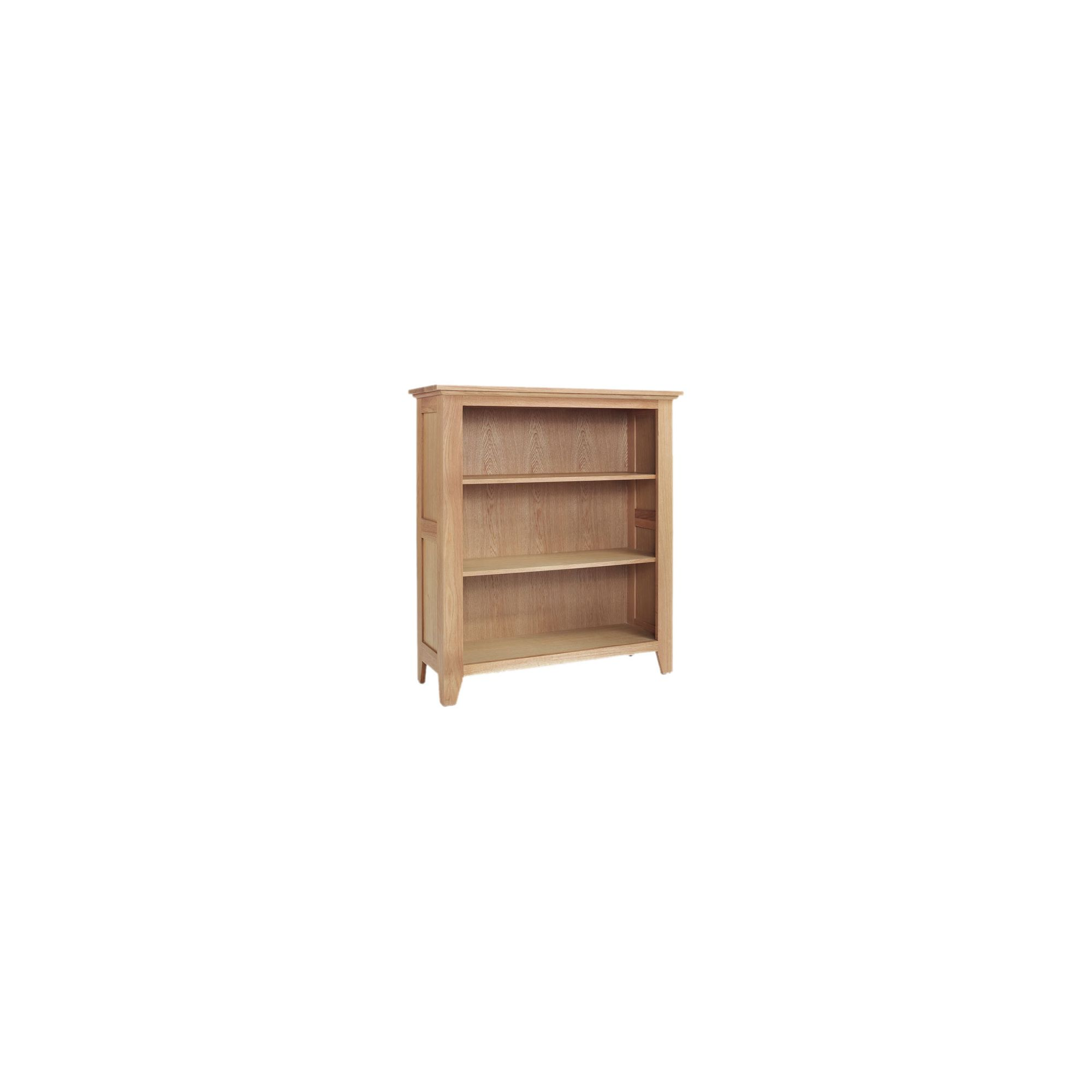Ametis Sherwood Oak Low Bookcase at Tesco Direct