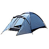 North Gear Camping Mono 2 Man Waterproof Dome Tent Blue