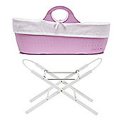 Moba Basket with Stand - Rose Pink