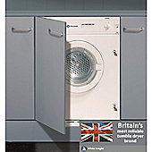 White Knight C43AW Vented Tumble Dryer, 6kg, C Energy Rating, White