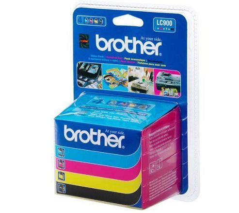 Brother LC900 Inkjet Cartridge Black/Magenta/Yellow/Cyan