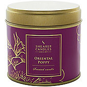 Shearer Candle Tin Oriental Poppy