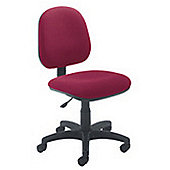 Jemini Medium Back Operators Chair Claret